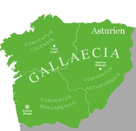 Gallaecia Sueva - ab 411 das Königreich der Sueven